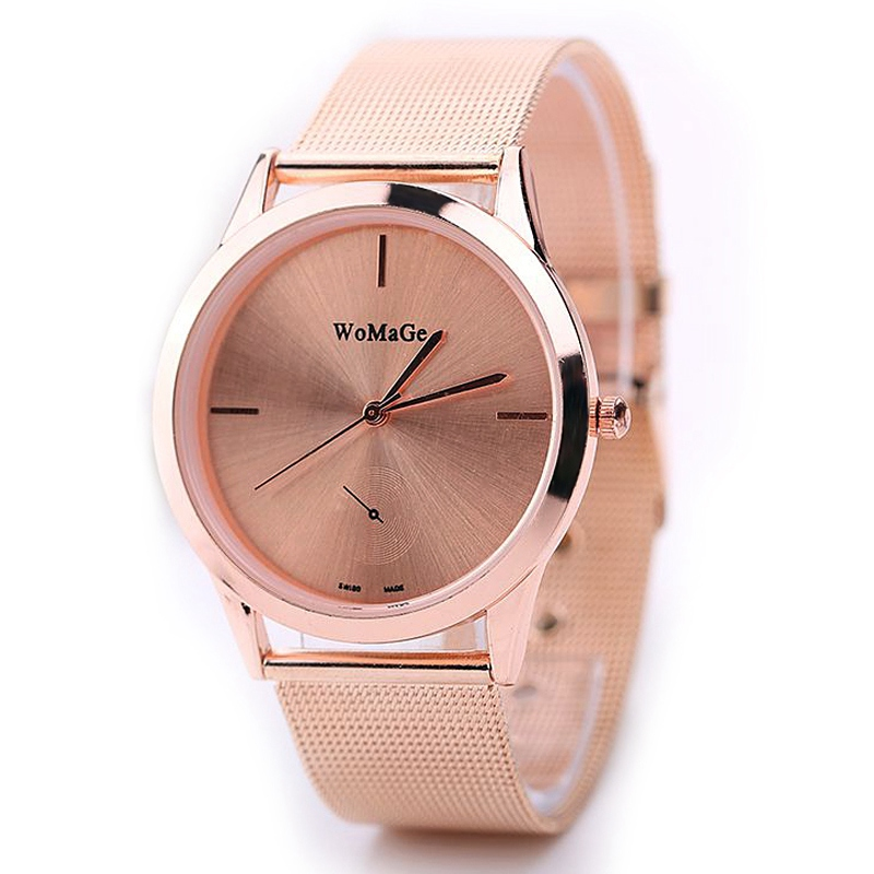 clock wrist wristwatch lovers luxury couples fashion brand product men gold women rabbit belt leather summer quartz cheap watches